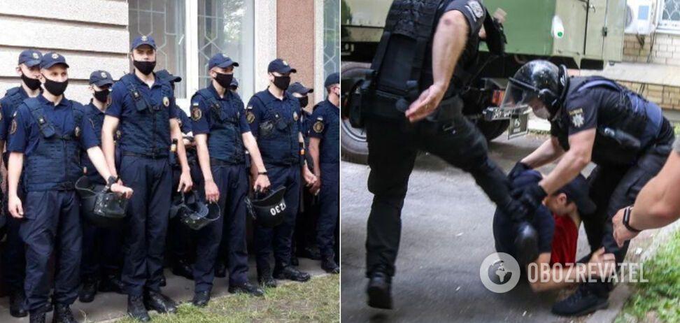 У Києві поліцейських звинуватили в побитті ветерана війни: подробиці НП