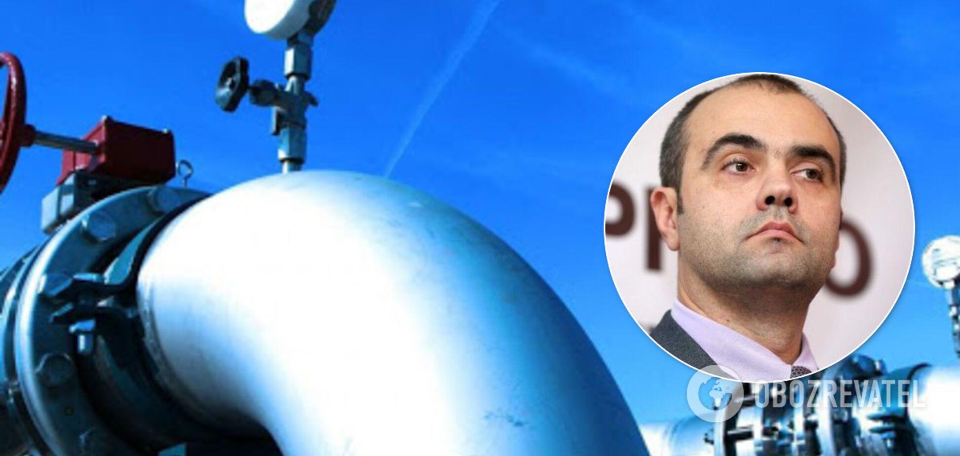 Сергей Макогон заявил, что 'Газпром' начал разбирать трубы, ведущие в Украину