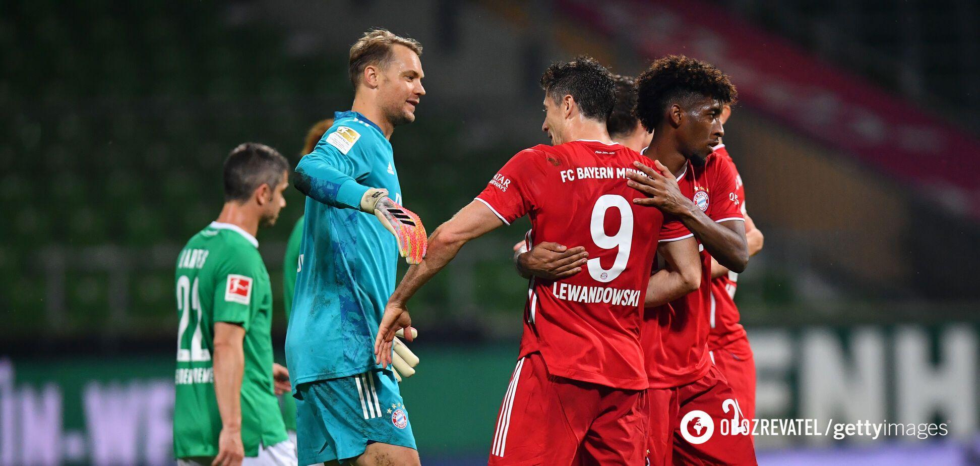 Визначився чемпіон Німеччини з футболу