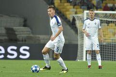 Сергей Сидорчук с мячом