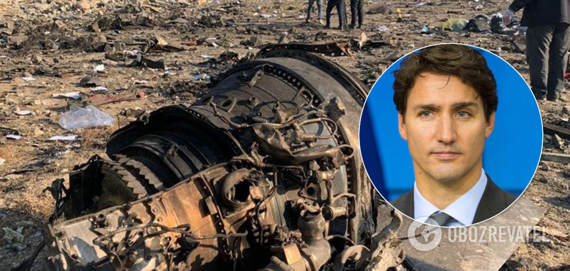 Трюдо заявив, що 'чорні ящики' літака МАУ передадуть найближчим часом