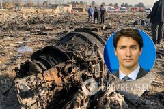 Трюдо заявил, что 'черные ящики' самолета МАУ передадут в ближайшее время
