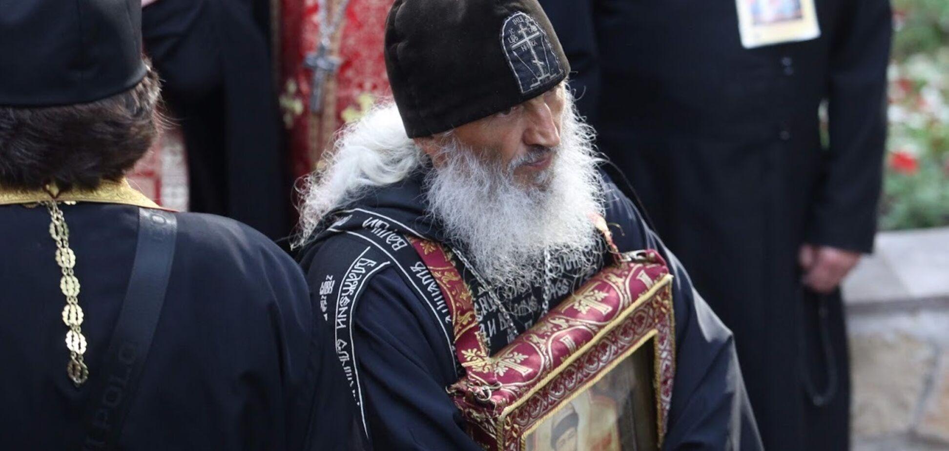 Схиигумен Сергий (Романов), который захватил монастирь