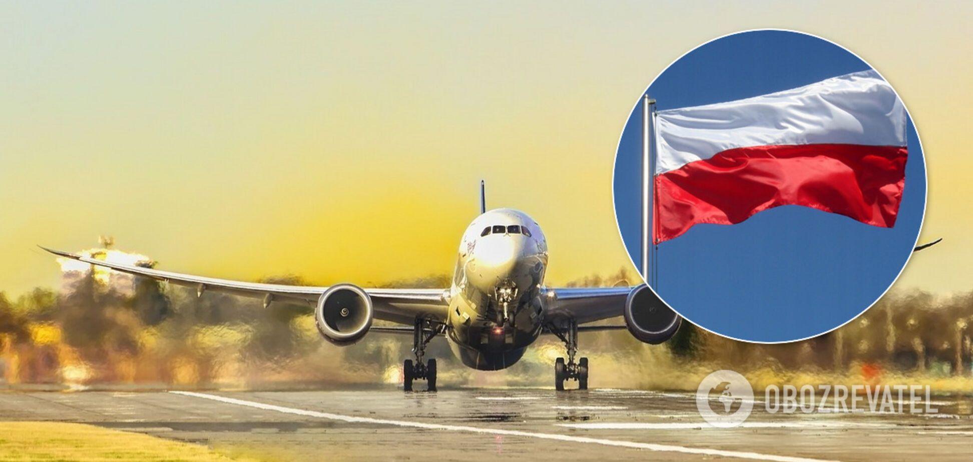 Польша запретила пассажирские авиаперевозки: Украина в списке