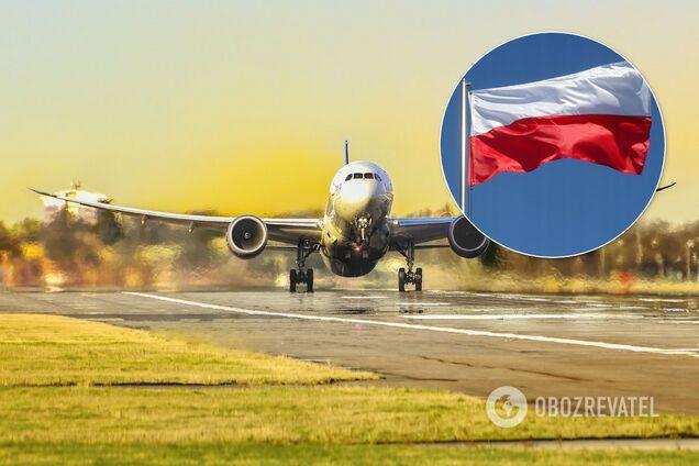 Польща заборонила пасажирські авіаперевезення: Україна у списку