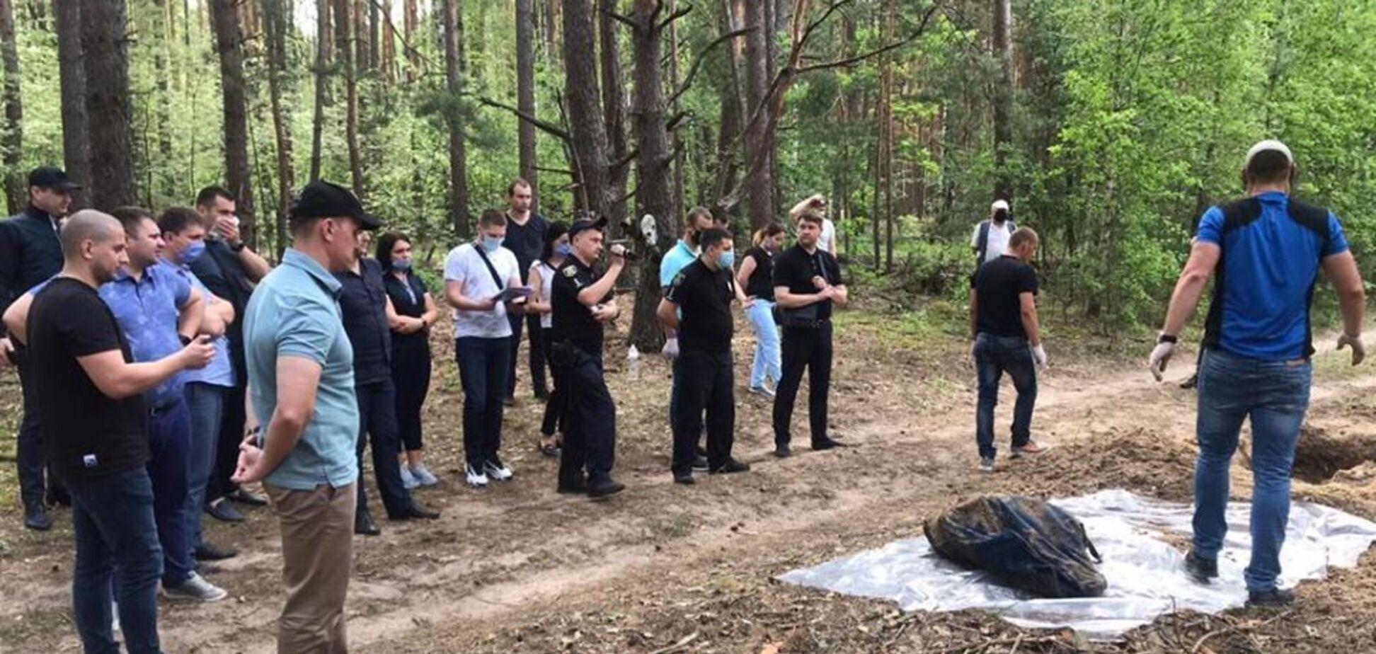 Под Киевом в лесу нашли тела без вести пропавших мужчины и женщины