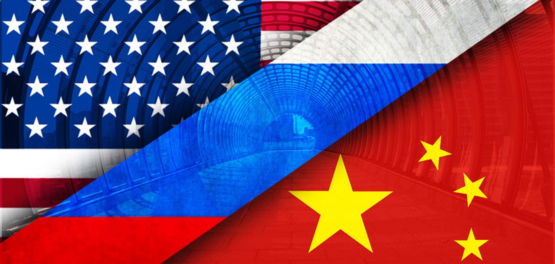 На сцене господствуют Америка и Китай, Россия следить из партера