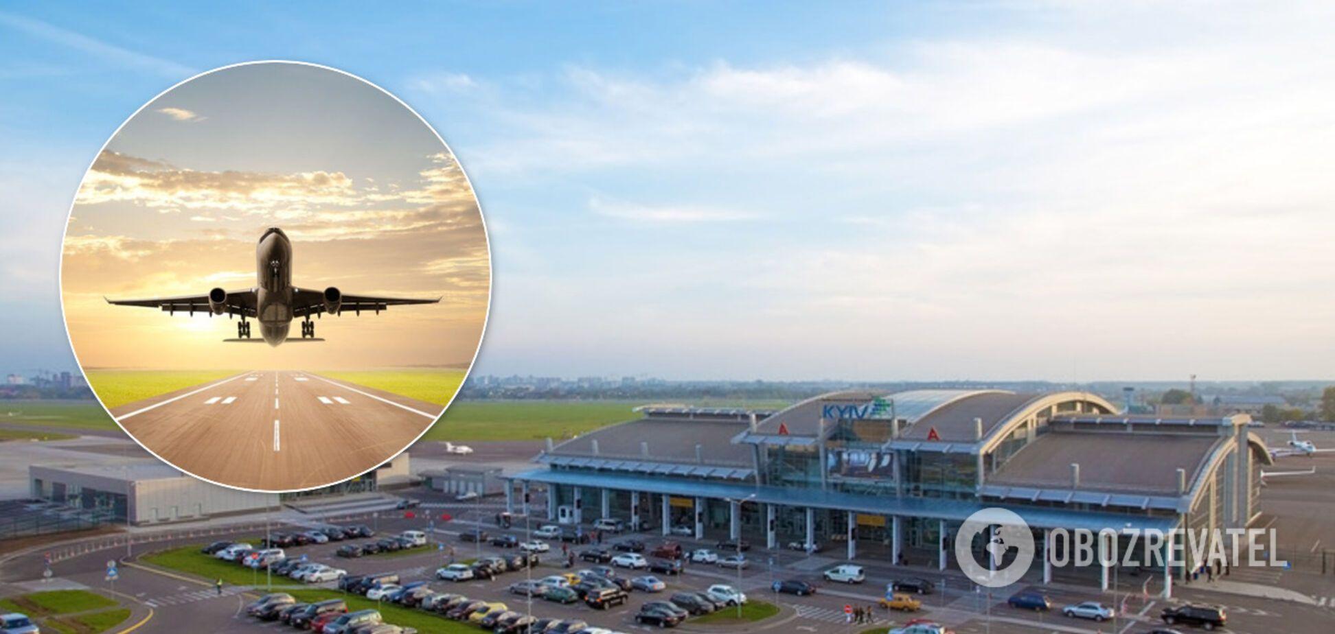 Аэропорт 'Киев' возобновил международные рейсы: куда можно полететь