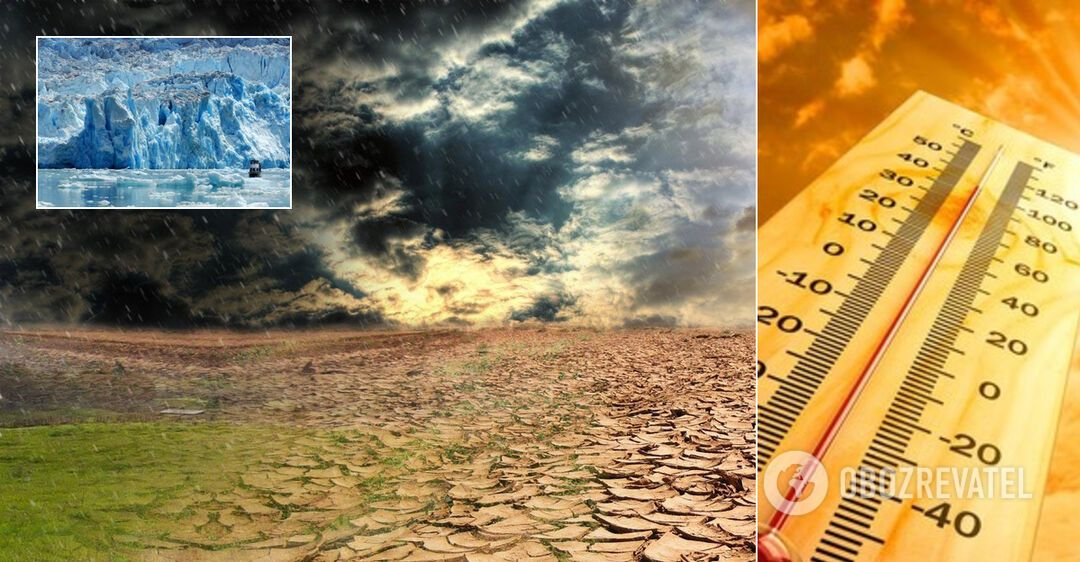 Украину ждут аномальная жара, шквалы, засухи и смерчи. Подробный прогноз