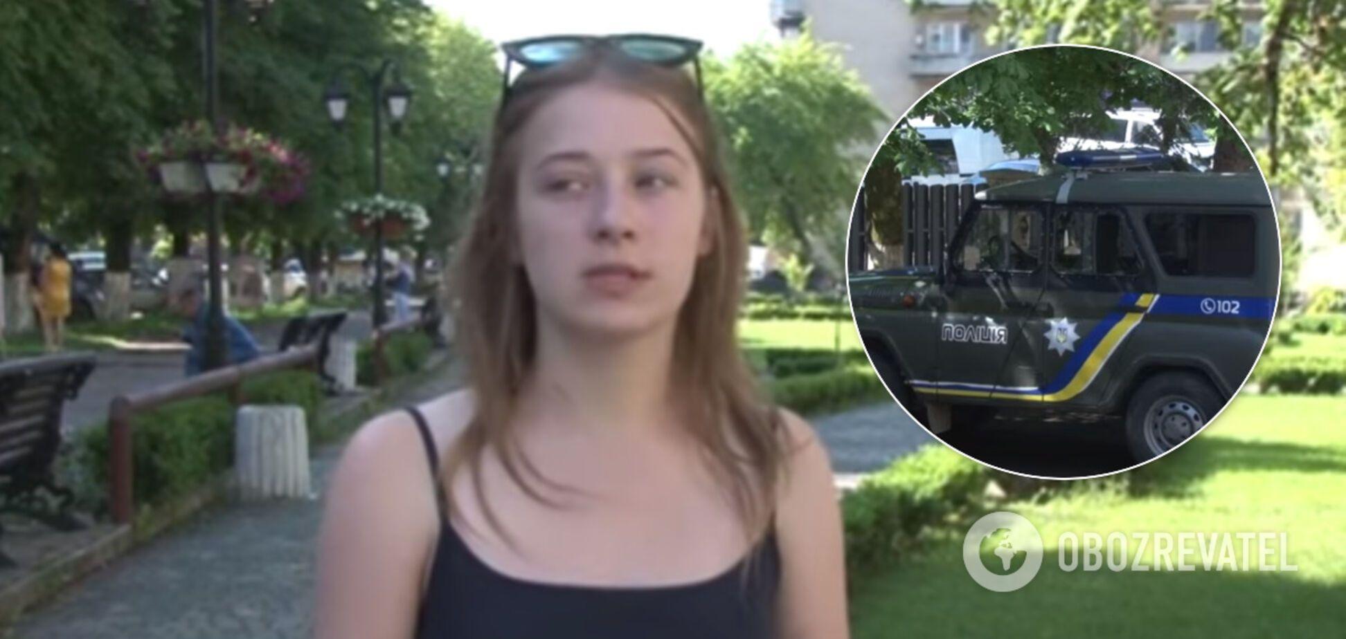 Стояла на коленях и умоляла: на Закарпатье полицейскую обвинили в жестоком избиении девушки