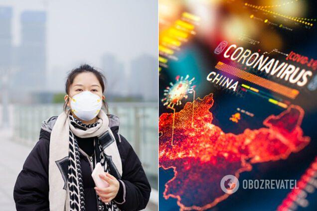 Спалах коронавірусу в Китаї