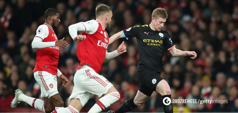 'Манчестер Сіті' розгромив 'Арсенал' в матчі першого кола з рахунком 3: 0