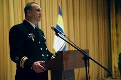 Командувач ВМС Олексій Неїжпапа