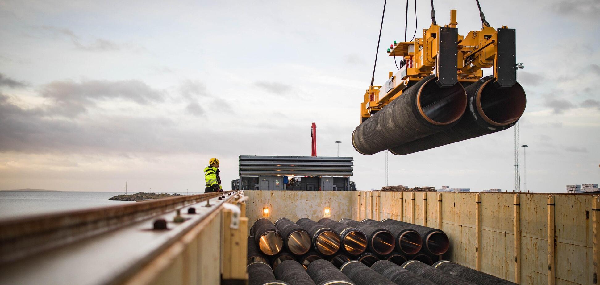 Росія попросила від Данії поступок для 'Північного потоку-2'