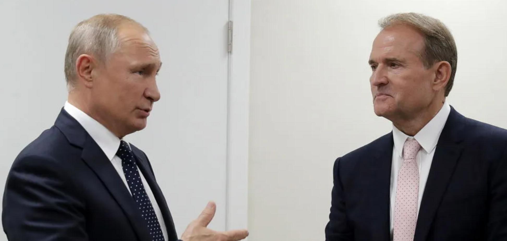 Путин и Медведчук в Кремле