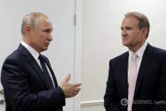 Путін і Медведчук в Кремлі