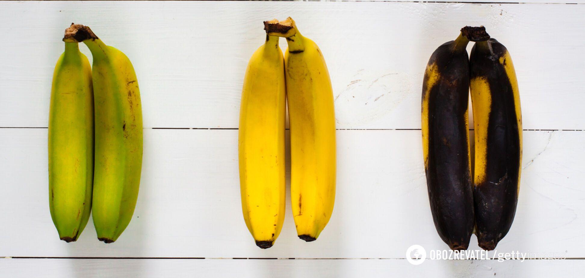 5 стадій дозрівання банана: коли краще їсти корисний фрукт