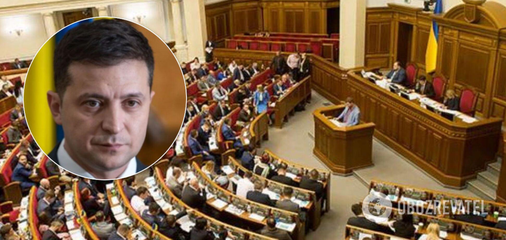 Рада в першому читанні ухвалила законопроєкт Зеленського про референдум