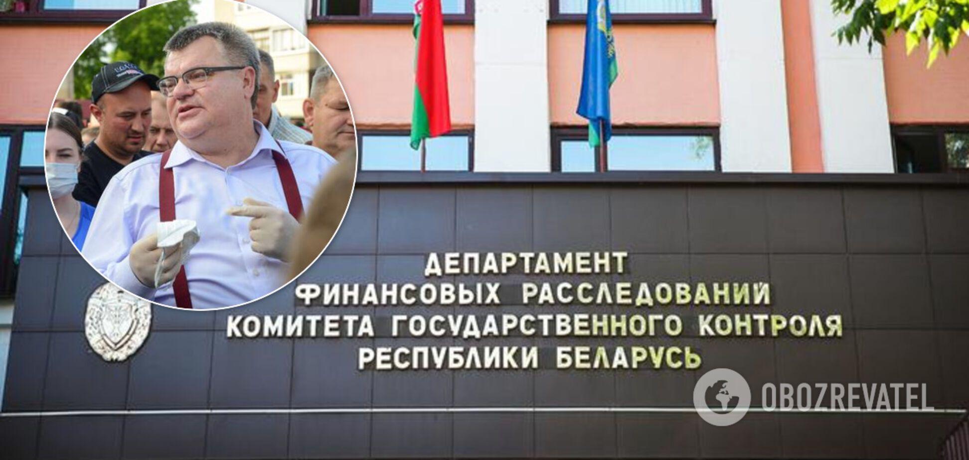Віктора Бабарика допитують у Комітеті державного контролю Білорусі