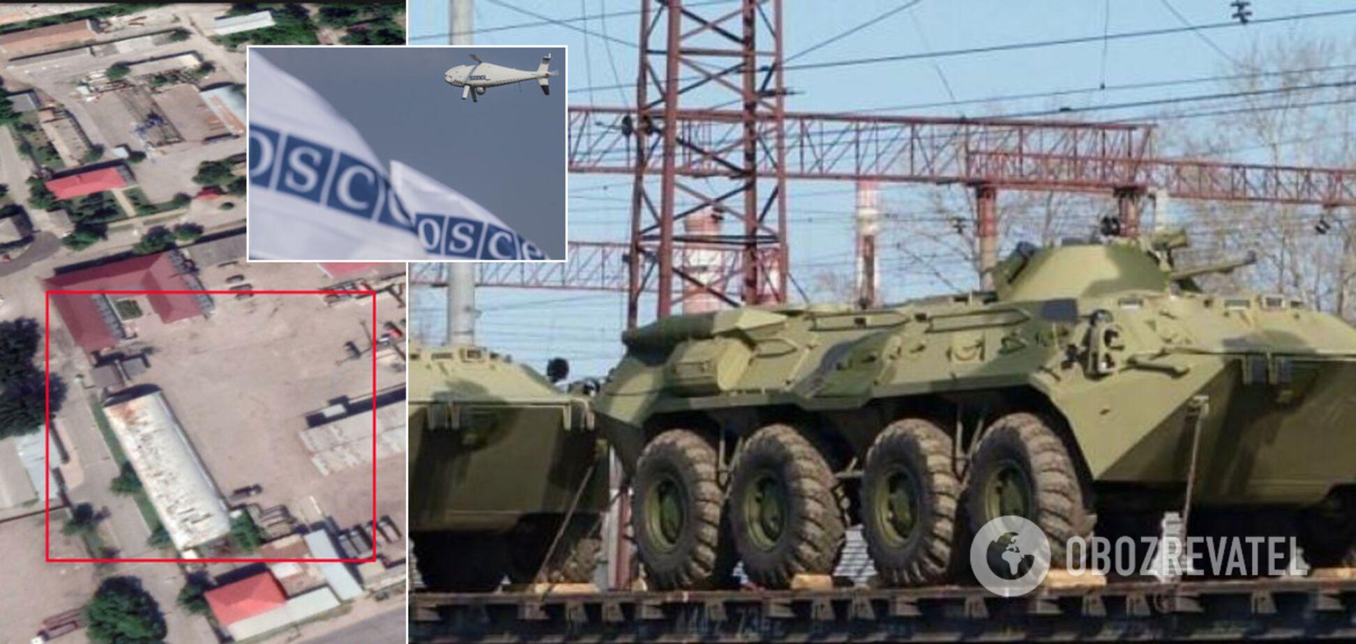 РФ тайно перебросила военную технику в Луганск