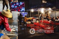 Эпидемиологи нашли связь между вспышками коронавируса на рынках в Китае