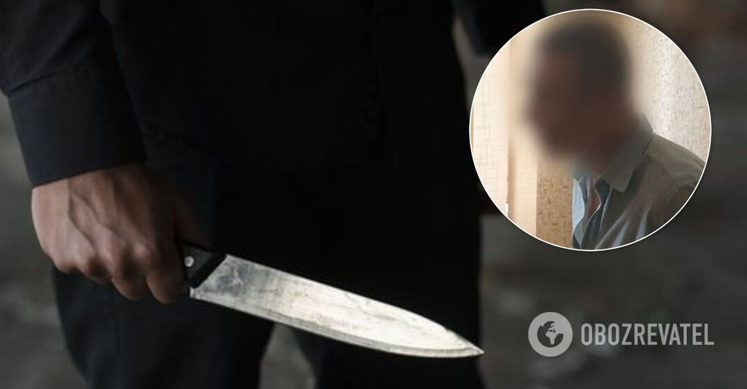 В Кривом Роге мужчина устроил резню посреди улицы: пострадали двое. Фото