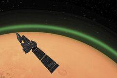 Марс засиял зеленым светом: в чем феномен планеты