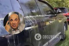 Авто Рабиновича забросали яйцами в Чернигове