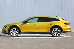 VW Arteon Shooting Brake рассекретили до премьеры