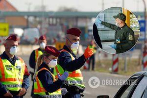 Угорщина озвучила правила перетину кордону для українців