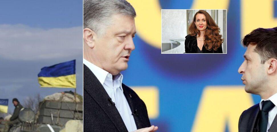 Если повторить дебаты Порошенко и Зеленского, то действующему президенту сказать будет нечего, – волонтер Юсупова