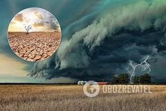 Украину накроют засухи, смерчи и ураганы, регионы превратятся в депрессивные. Интервью с ученым