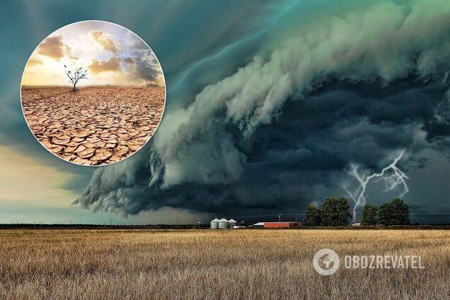 Україну накриють посухи, смерчі й урагани, регіони перетворяться на депресивні. Інтерв'ю з ученим