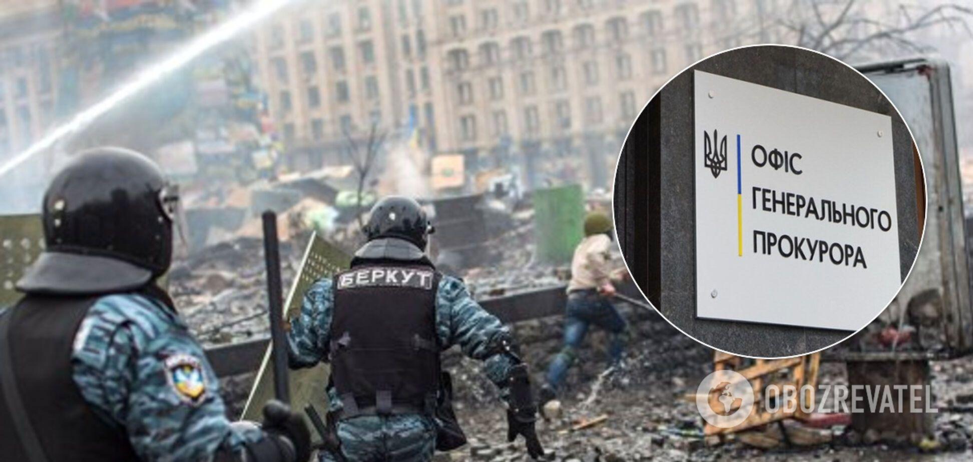 Справи Майдану: ексберкутівцю повідомили про підозру у вчиненні умисних вбивств та теракту