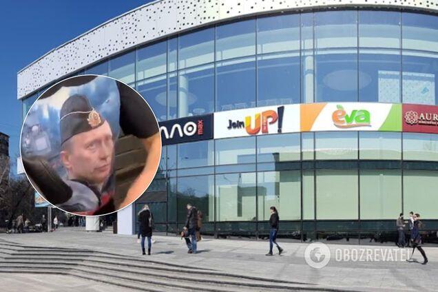 Жінку у футболці з Путіним помітили у супермаркеті Києва