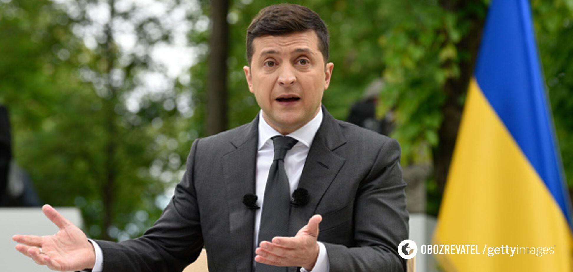 Владимир Зеленский на пресс-конфренции