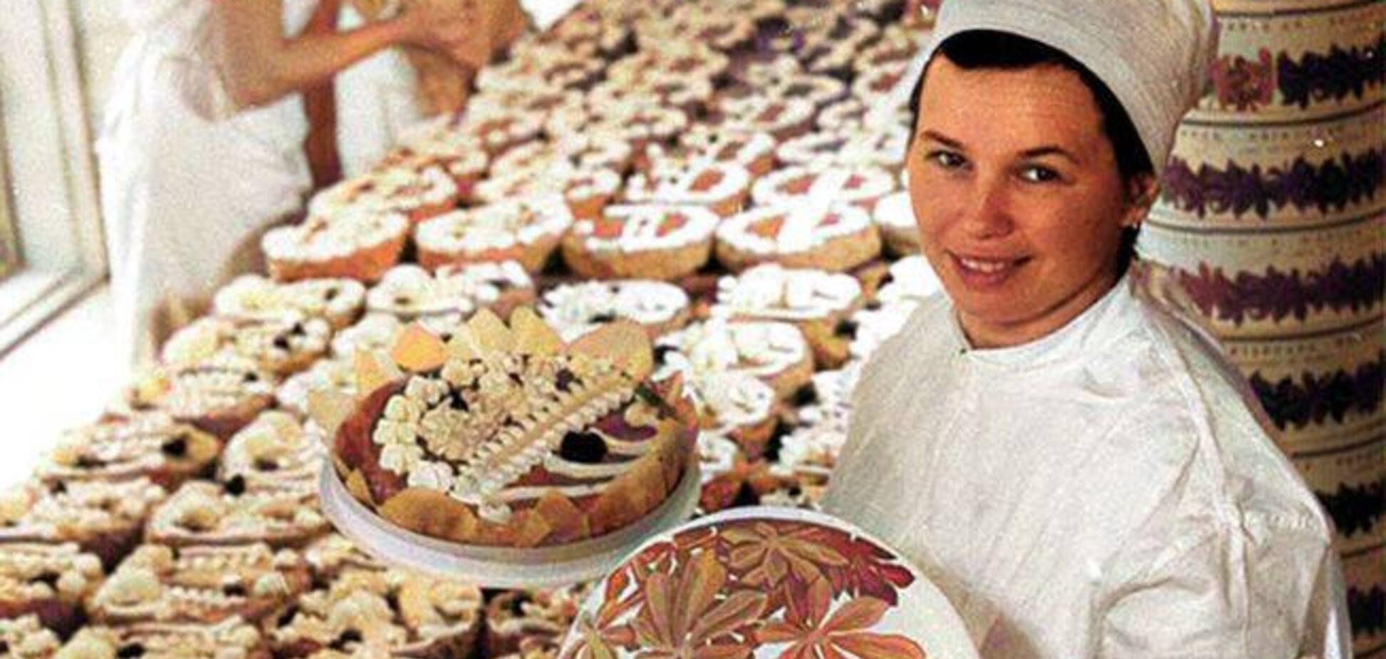 Архивное фото киевского торта