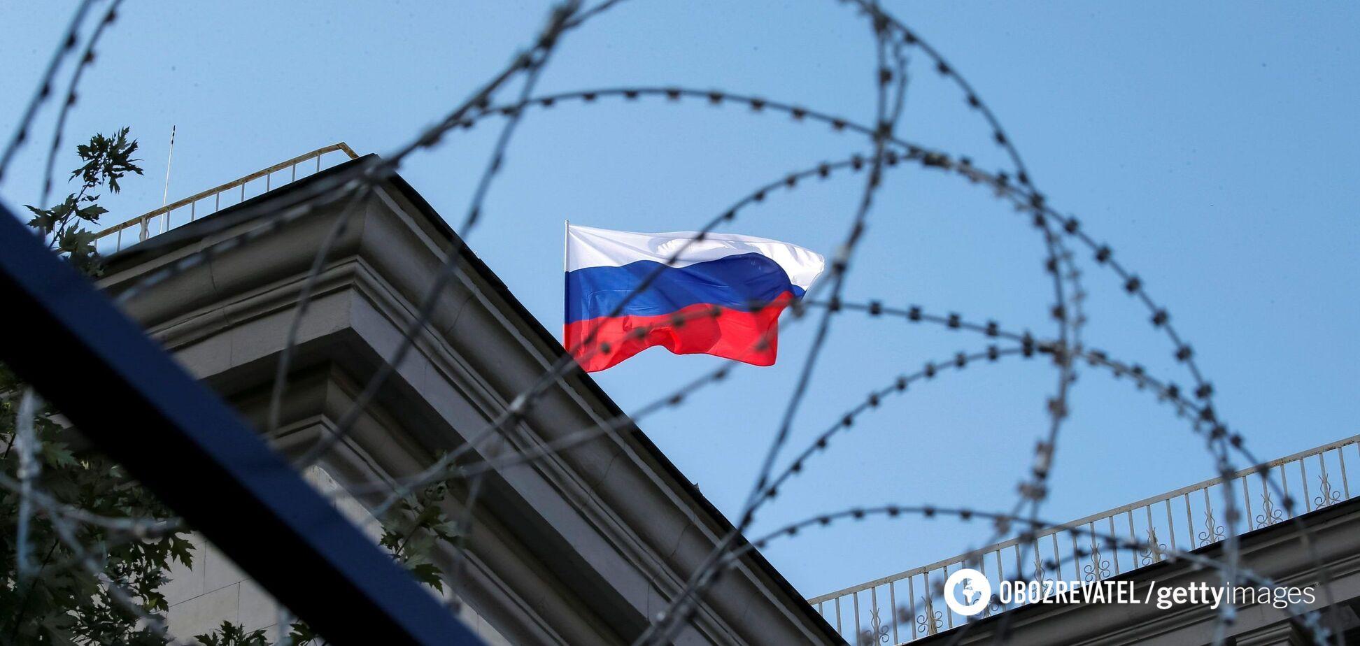 Санкции против России. Иллюстрация