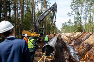 Будівництво польсько-литовського газопроводу GIPL