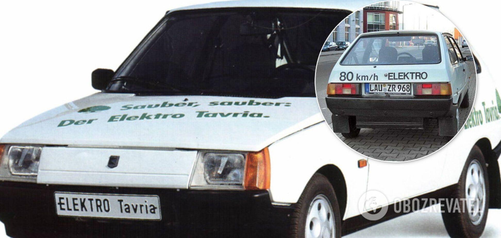 Как ЗАЗ продавал в Германии уникальную Таврию Электро. Фото
