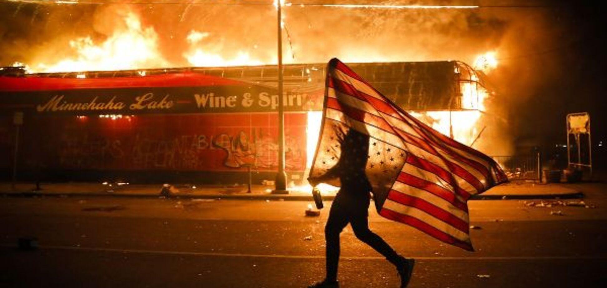 Американские протесты и российское вмешательство