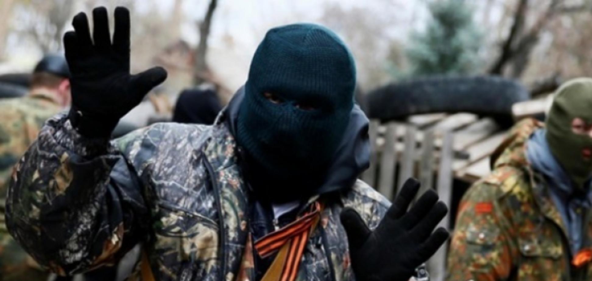 Террорист ДНР
