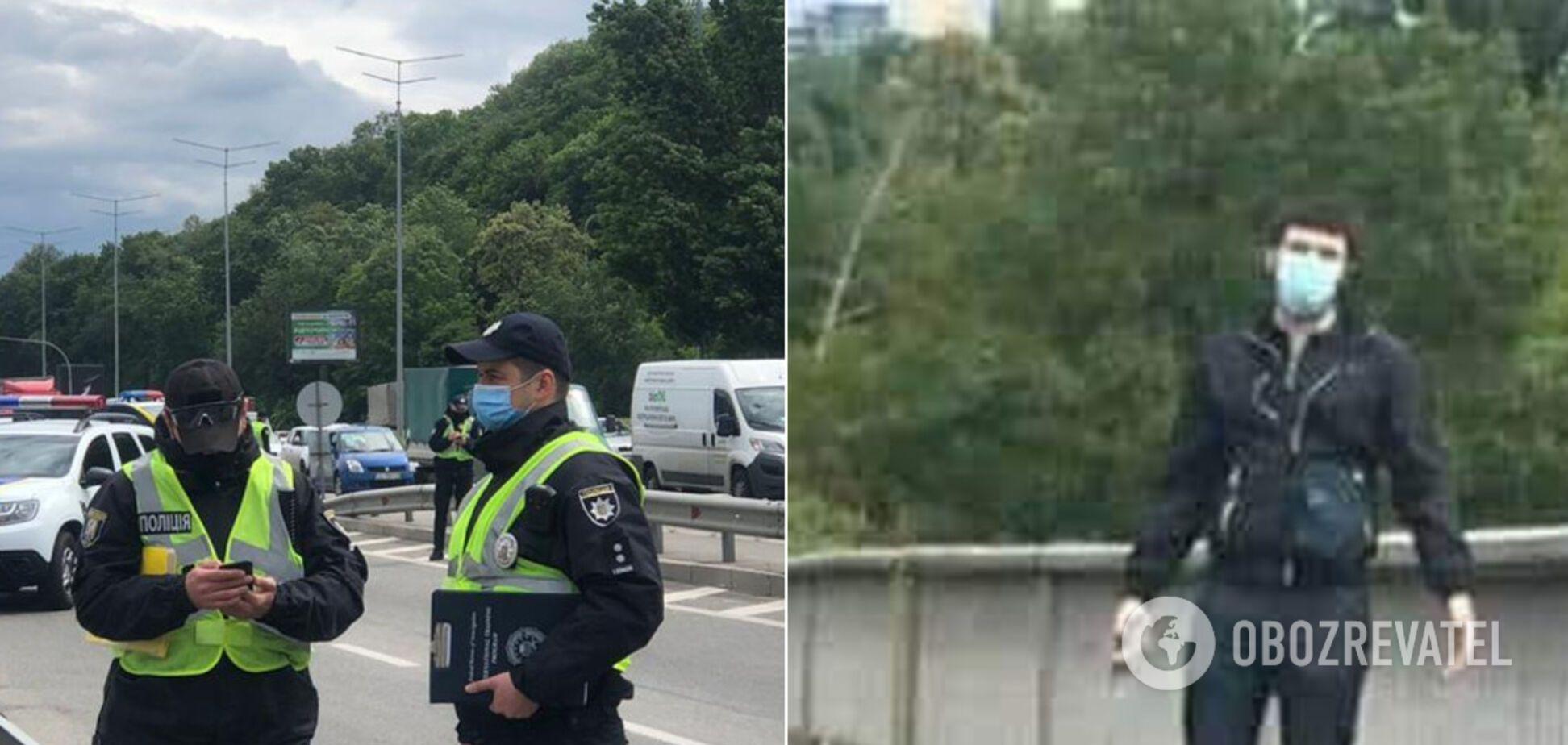 'Минеру' моста в Киеве объявили подозрение
