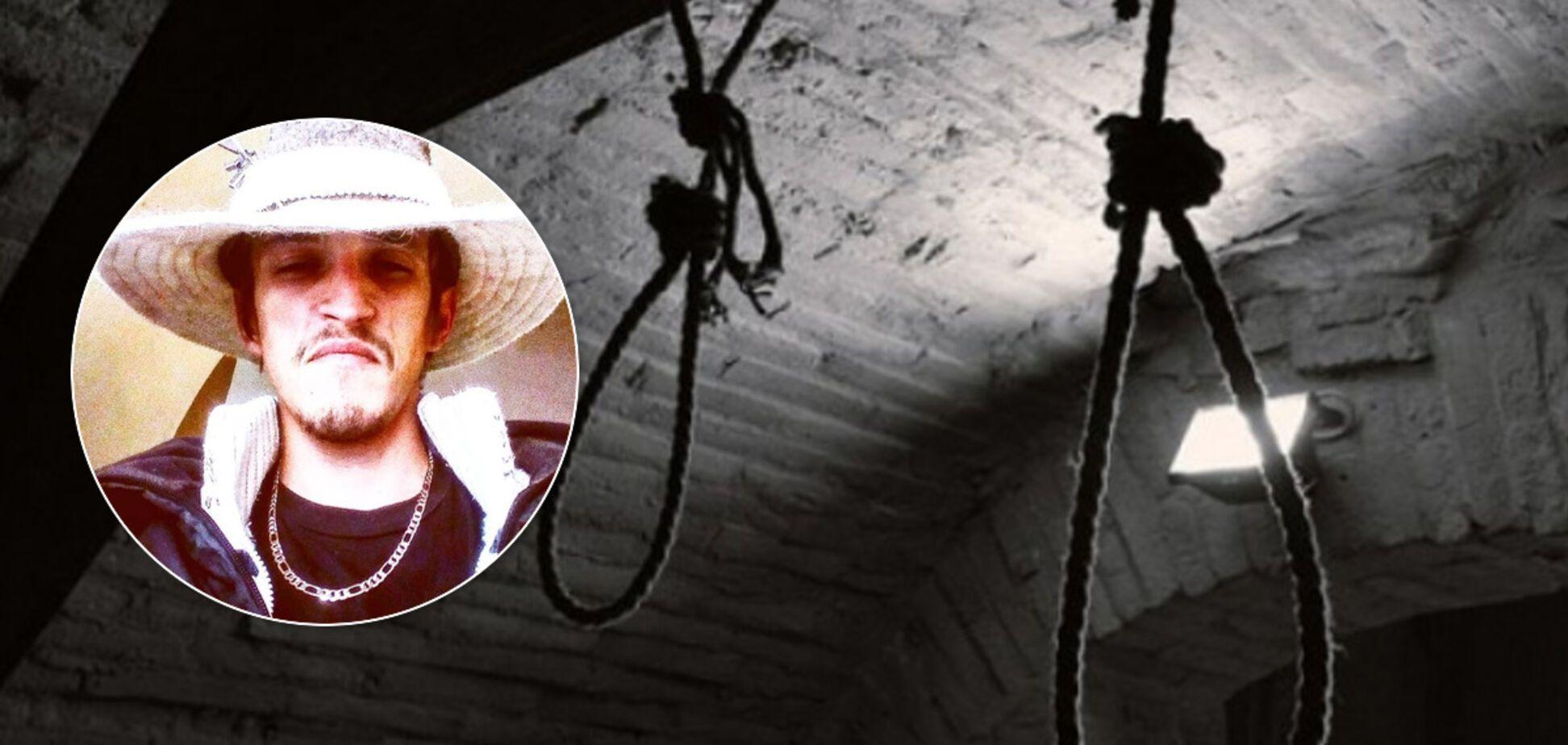 'Я вас проклинаю!' В Мукачево мужчина транслировал свое самоубийство в Facebook. Фото 18+