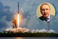 'Дед, таблетки пей': в сети высмеяли 'единоросса', заявившего, что запуск ракеты Маска – фейк
