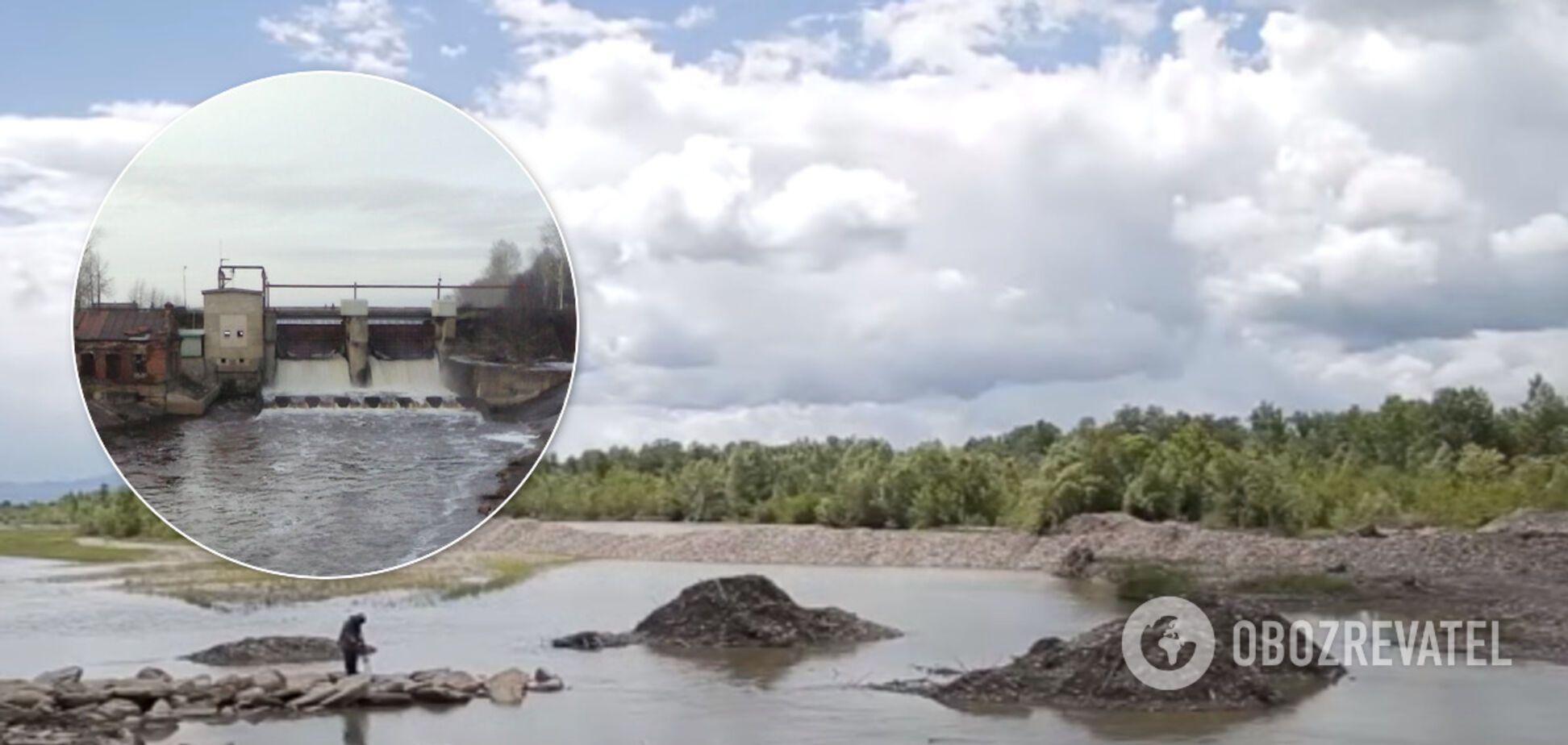Под водой окажутся тысячи человек: на Буковине 20 сел может смыть горными реками