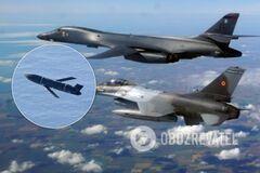 США испытали над Черным морем боевую ракету