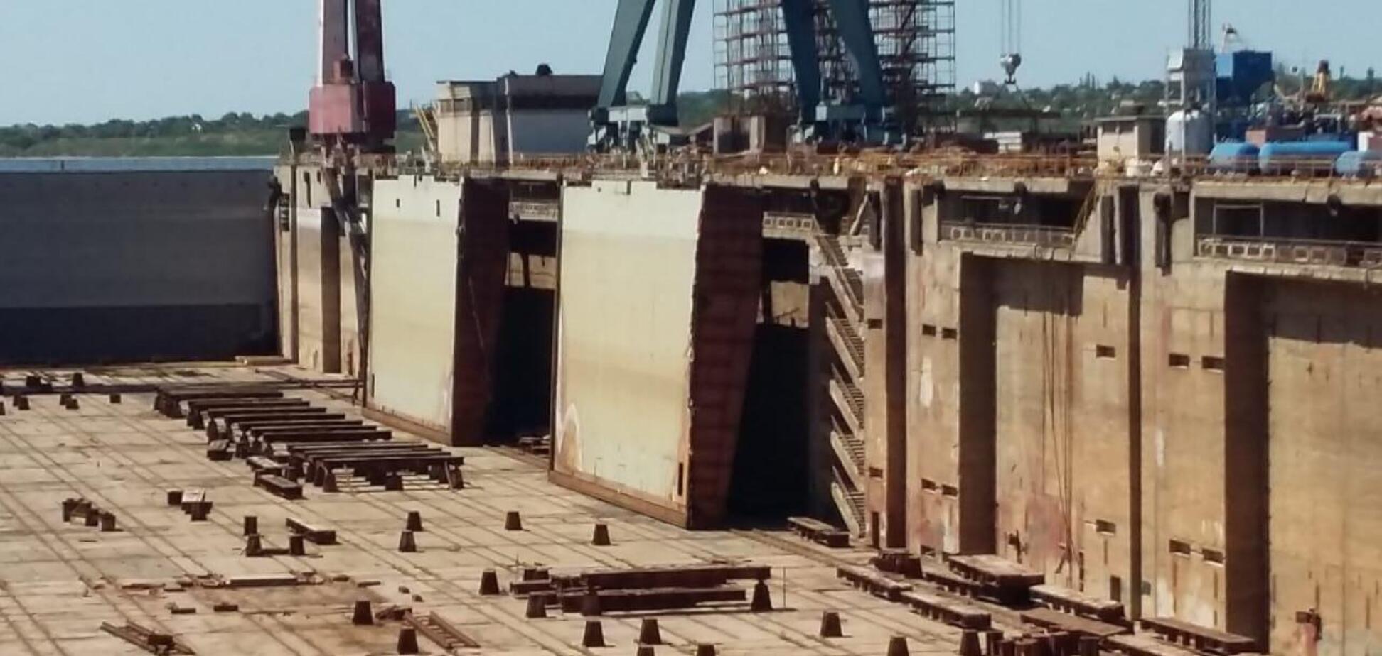 Нардеп Скороход просит правоохранителей остановить разграбление Николаевского судостроительного завода 'Океан'