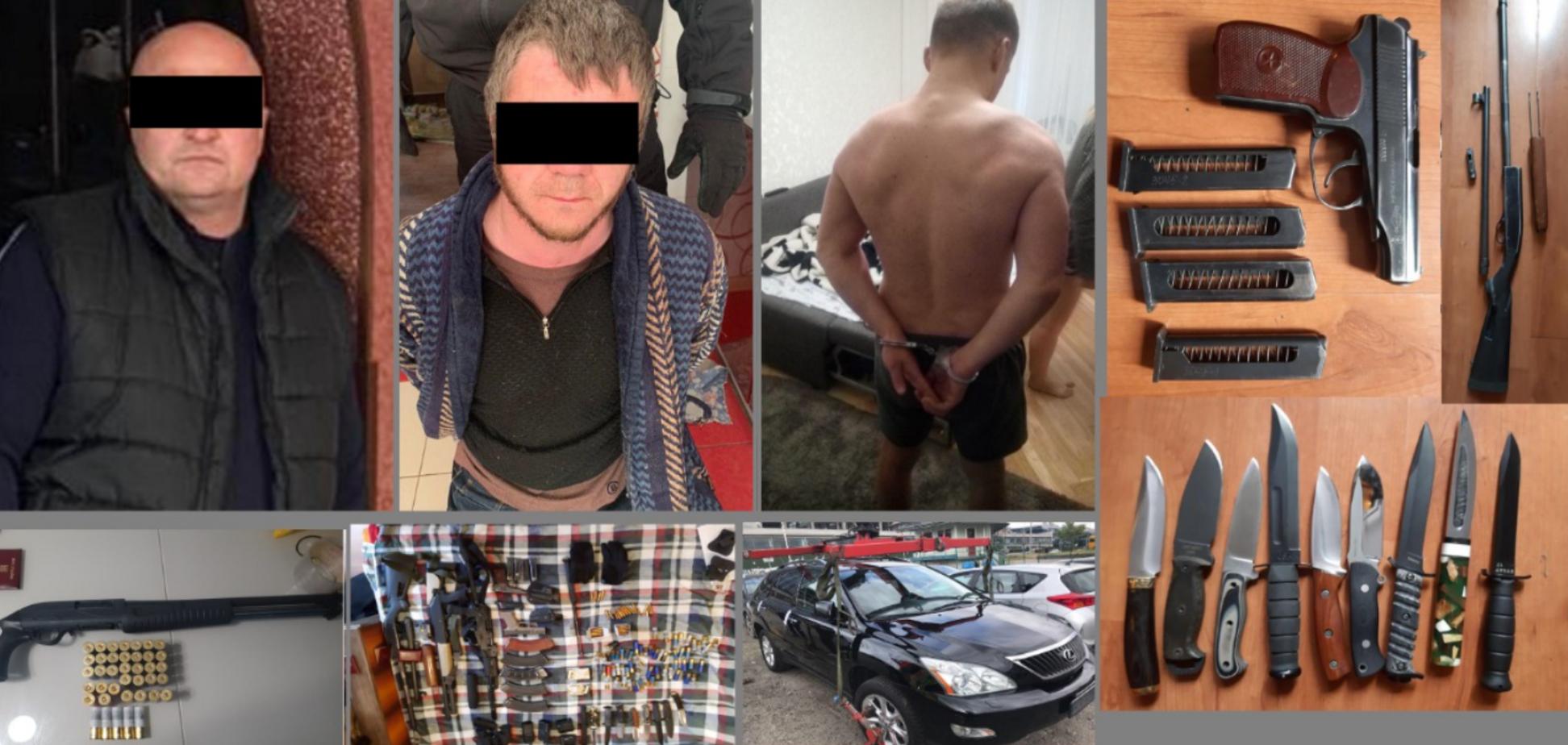 На Київщині спіймали банду на чолі з 'Віхою': Аваков розкрив деталі