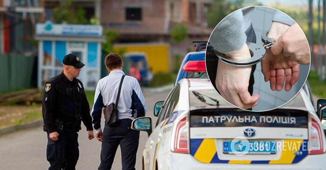 Водитель покусал полицейского, его задержали